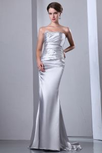 2015 Affordable Elastic Woven Satin Floor-length Sweetheart long Evening Dresses