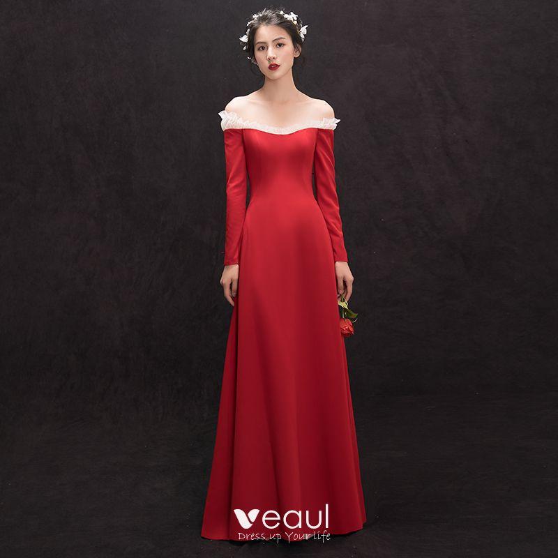 Kleid lange armel ruckenfrei