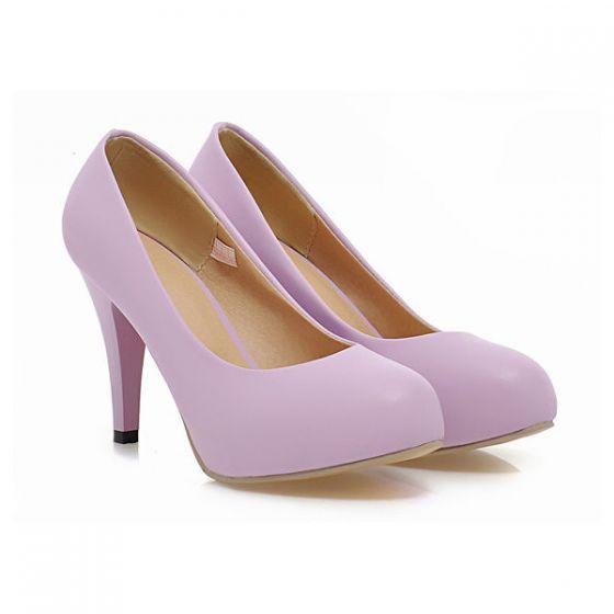 Tacones De Bombas Cuero Dama 10cm Honor Patentes Zapatos Elegante Altos Aguja 0Nnmyv8wO