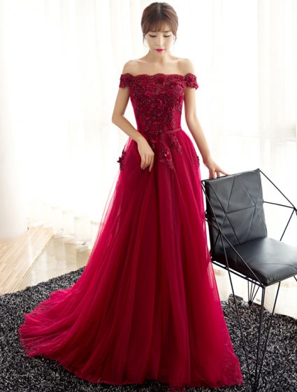 42ed6e215fc glamorous-evening-dresses-2017-off-the-shoulder-beading -applique-flowers-burgundy-dress-425x560.jpg