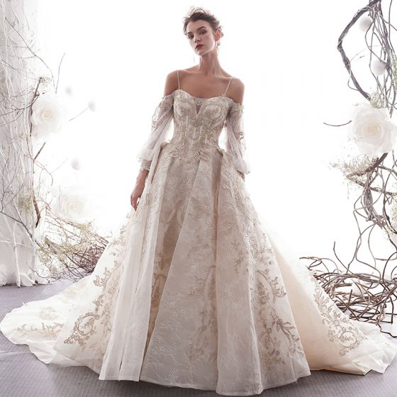 5b6af78d2420 luxury-gorgeous-champagne-wedding-dresses-2019-a-line-princess-spaghetti- straps-beading-crystal-lace-flower-3-4-sleeve-backless-royal-train -560x560.jpg