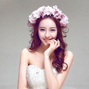 Mode Elegante Jasmijn Bruids Hoofdtooi / Head Bloem / Bruiloft Haar Accessoires / Bruiloft Sieraden / Krans