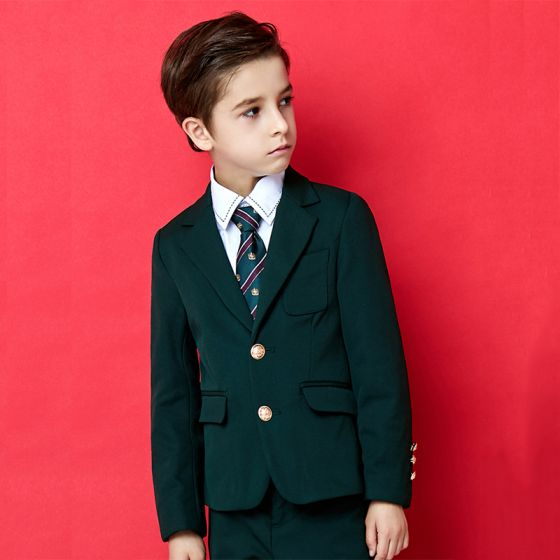 Vintage Dunkelgrün Kinderanzug 2020
