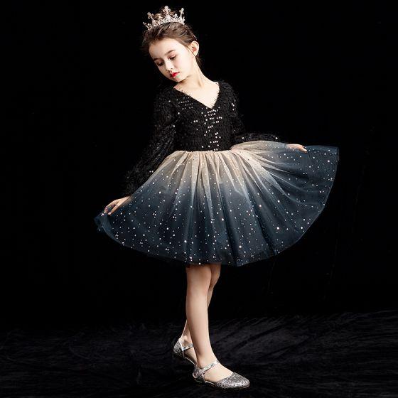 Tween Girls Short Jeweled Dress with Glitter Skirt by