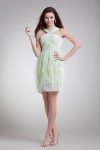 Wzburzyc Szyfonowa Mini Pioro Ramiaczka Tanie Sukienki Koktajlowe Sukienki Wizytowe