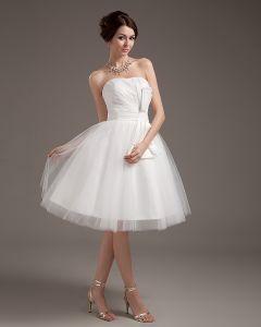 8b4e6e81db Przedza Wzburzyc Suknie Ślubne Krótkie Sukienki Ślubne