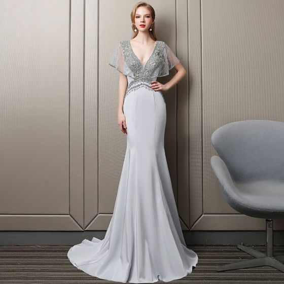 23563ef96d00 sexy-silver-evening-dresses -2018-trumpet-mermaid-crystal-rhinestone-beading-pearl-sequins-v-neck -backless-short-sleeve-sweep-train-formal-dresses-560x560.jpg