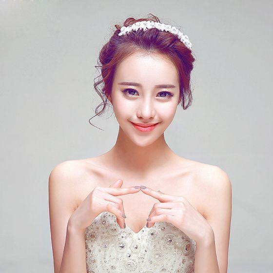 Luxury Pearl Flower The Bridal Headdress /Head Flower / Wedding Hair Accessories / Wedding Jewelry