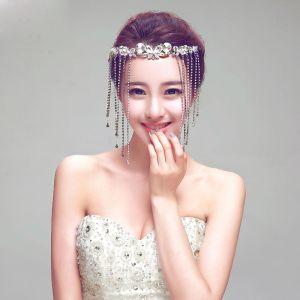 Tassel Rhinestone The Bridal Headpiece Wedding Hair Accessories Wedding Jewelry