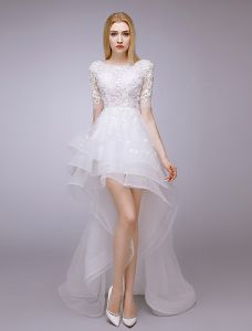 Vestidos novia cortos economicos