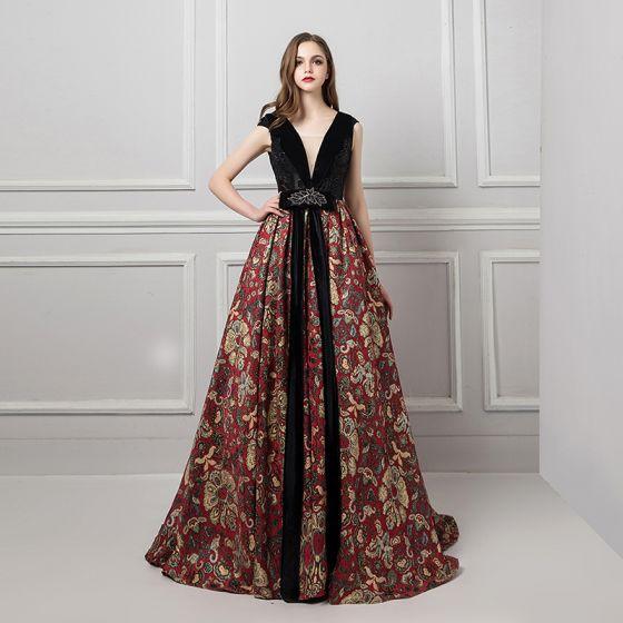 cc7c0d85ebbd51 sexy-black-evening-dresses-2019-a-line-princess-v-neck-sleeveless -beading-rhinestone-sash-printing-flower-court-train-ruffle-backless-formal- dresses-560x560.jpg