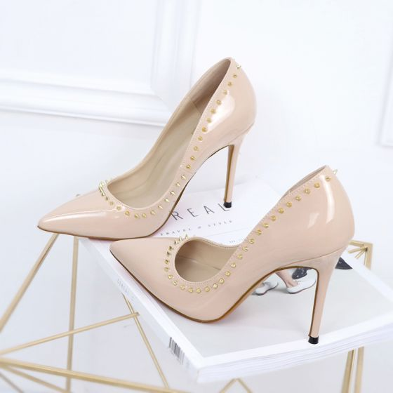 Modest Simple Office Pumps  Cm Stiletto Heels Pointed Toe Pumps 560x560 Jpg