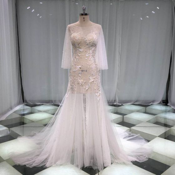 d5bb593f0f illusion-sexy-see-through-beach-summer-ivory-trumpet-mermaid-wedding-dresses -2019-scoop-neck-long-sleeve-appliques-lace-pearl-court-train -ruffle-560x560.jpg