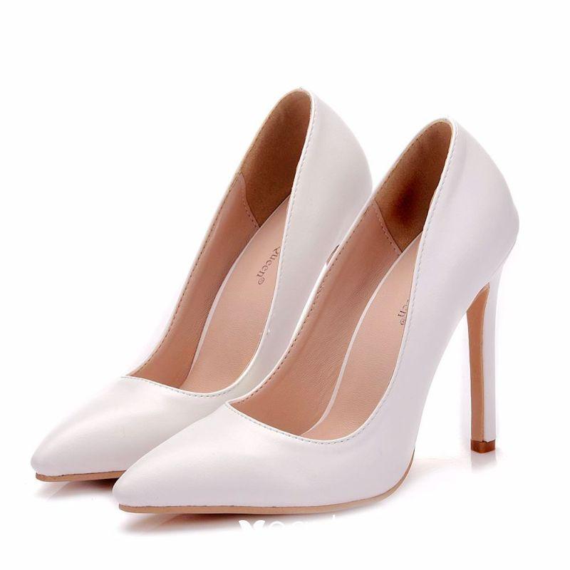 11 cm Stiletto Heels Pointed Toe Pumps
