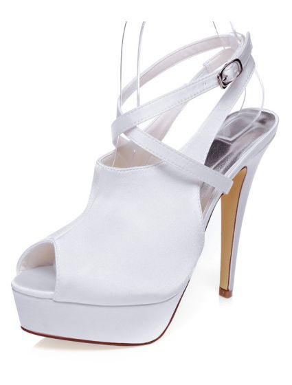 Aguja La Tobillo Cm Del 13 Boda Con Correa Sandalias De Zapatos Novia Hermosa Plataforma Tacones WD29EYIH