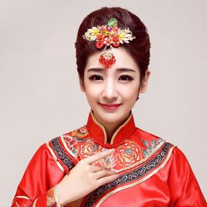 Classical Chinese Style Bridal Headpieces / Wedding Hair Accessories / Wedding Jewelry