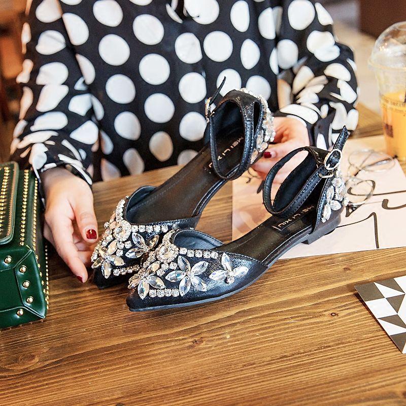 Elegant 2017 Silver Evening Party Leatherette Crystal Flat Platform Flat Wedding Dresses