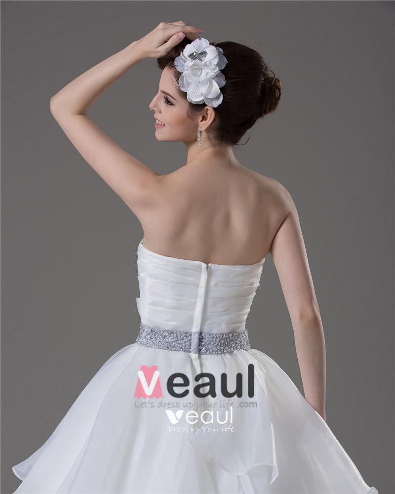 Sweetheart Beading Pleated Floor Length Yarn Ball Gown Wedding Dress
