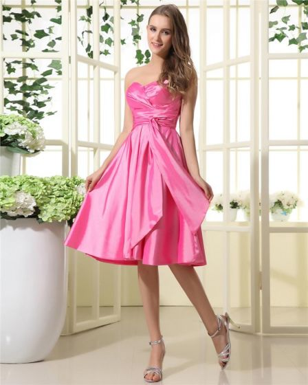 Sweetheart Tea Length Dress