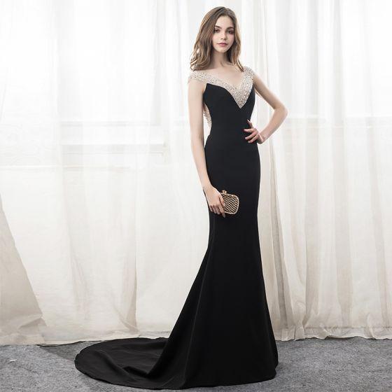Vestidos noche negro