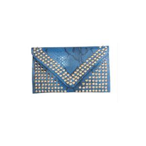 Rivet De Mode Haute Capacité Sac Enveloppe De Sac D'embrayage Sauvage