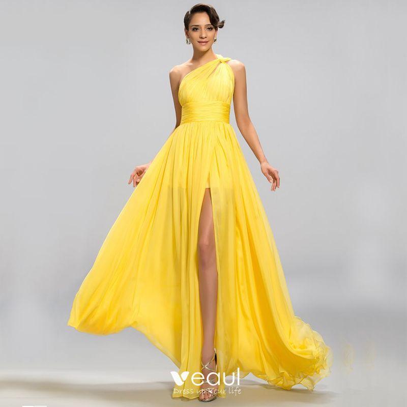 Yellow Formal Dress