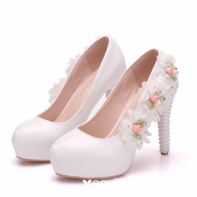 Rosa runde Zehe Stilett Strass Mode Schuhe mit hohen