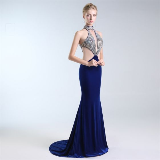 8a69828c4eac luxury-gorgeous-navy-blue-evening-dresses -2019-trumpet-mermaid-halter-rhinestone-suede-sleeveless-backless-sweep-train- formal-dresses-561x560.jpg