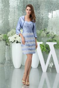 Elegant Empire Sweetheart Pleated Lace Mother Of The Bride Dress With Coat