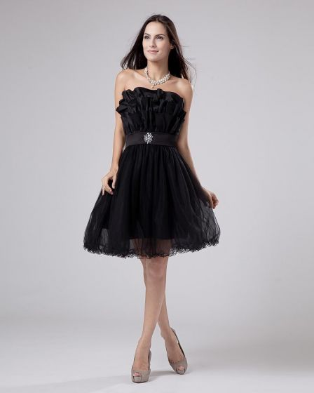 Organza Linke Wzburzyc Kwiatowy Wzor Suknie Balowe Sukienki Na Bal
