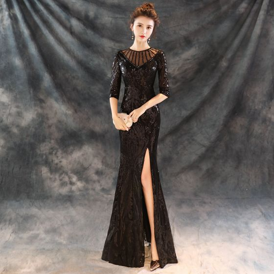 650a8748095 modern-fashion-black-evening-dresses -2018-trumpet-mermaid-beading-scoop-neck-1-2-sleeves-sequins-split-front- floor-length-long-formal-dresses-560x560.jpg