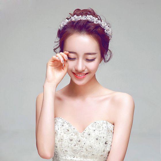 Pearl Bridal Headpiece Wedding Hair Accessories Wedding Jewelry