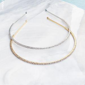 Modest / Simple Hair Hoop 2020 Metal Headpieces Bridal Hair Accessories