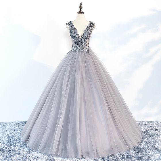 charming-grey-prom-dresses-2018-ball-gown-v-neck-sleeveless-appliques-lace- beading-floor-length-long-ruffle-backless-formal-dresses-560x560.jpg 11275e9cc