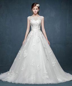 2015 Feder Luxuriöse Doppelschulter Brautkleider