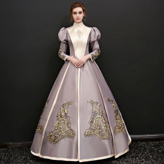 Charmeuse Sweetheart Empire Long Prom Dress