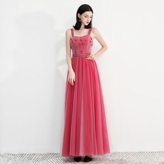 44999aedc8bd3 chic-beautiful-watermelon-prom-dresses-2018-a-line-princess-shoulders- sleeveless-beading-ankle-length-ruffle-backless-formal-dresses-560x560.jpg