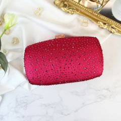 Chic / Beautiful Red Rhinestone Clutch Bags 2019