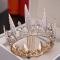 Hermoso Oro Joyas 2019 Metal Rhinestone Tiara Tassel Pendientes Boda Accesorios
