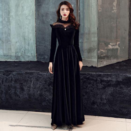 Vestidos de noche 2019 invierno