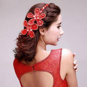 Fleur Classique De Dentelle De Perles De Mariée Coiffure / Fleur Tete / Accessoires De Cheveux De Mariage / Bijoux De Mariage