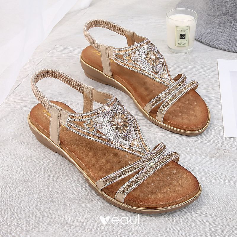 Chic / Beautiful Summer Gold Casual