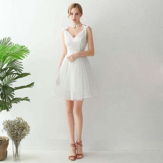 Vestido graduacion blanco