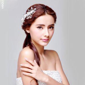 Handgemaakt Kristal Bloem De Bruids Hoofdtooi / Head Bloem / Bruiloft Haar Accessoires / Bruiloft Sieraden