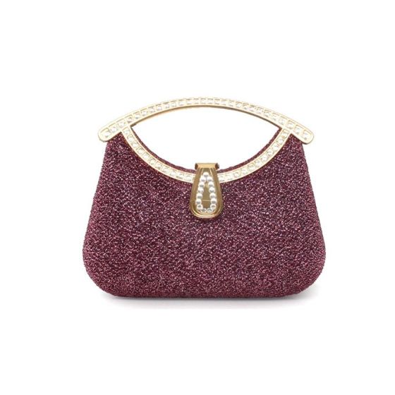 Colorful Yarn Small Bag Mobile Banquet Packet Mini Dress Bag Clutch Bags