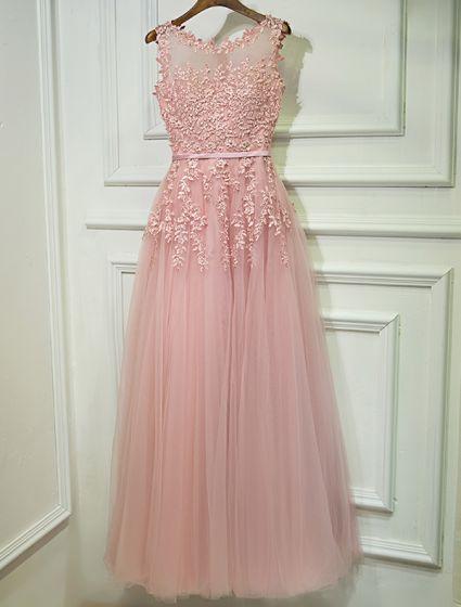 Vestido Rosa Largo De Noche Bref10a9e Breakfreewebcom