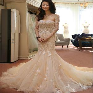Wedding mermaid dress
