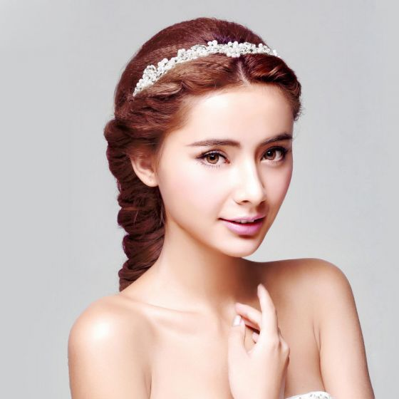 Mooie Parel De Bruids Hoofdtooi / Head Bloem / Bruiloft Haar Accessoires / Bruiloft Sieraden