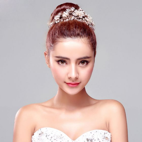 Sweet Of Alloy Rhinestone Bridal Headpieces / Head Flower / Wedding Hair Accessories / Wedding Jewelry
