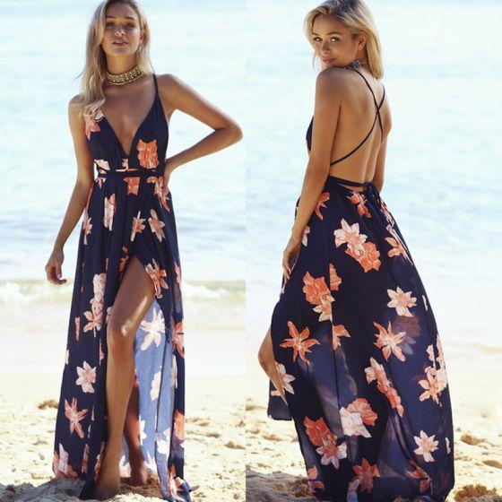 Imagenes de vestidos de playa largos